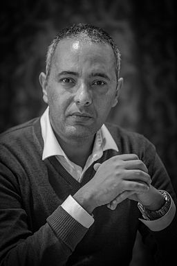 Photo of the author Kamel Daoud by Claude Truong-Ngoc via Wikimedia