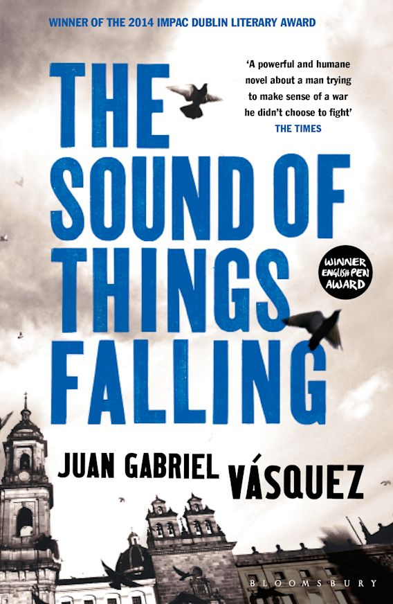 Cover image, The Sound of Things Falling